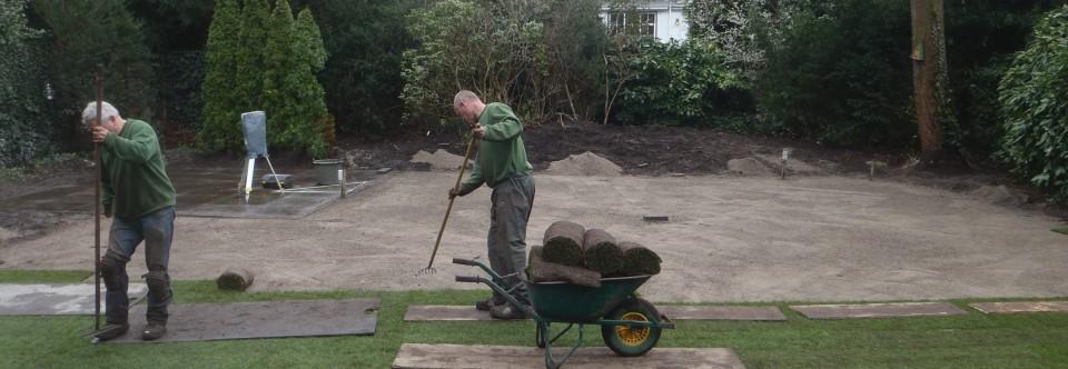 Aanleg: Daar is uw nieuwe tuin!